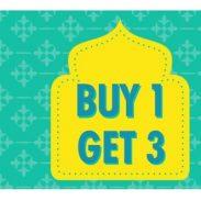 Nine Colours: Buy 1 Item & Get 3 Items Free