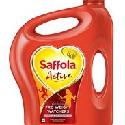 Paytmmall : Saffola Active Blended Cooking Oil 5lt Jar with Double deck of Scrabble playing cards