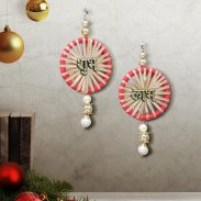Pepperfry : Multicolor Shubh Labh Hanging by Art of Jodhpur