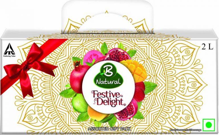Flipkart : B Natural Festive Juices Gift Pack 2 L