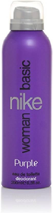 Flipkart : Nike Basic Purple Deodorant Spray - For Women  (200 ml)