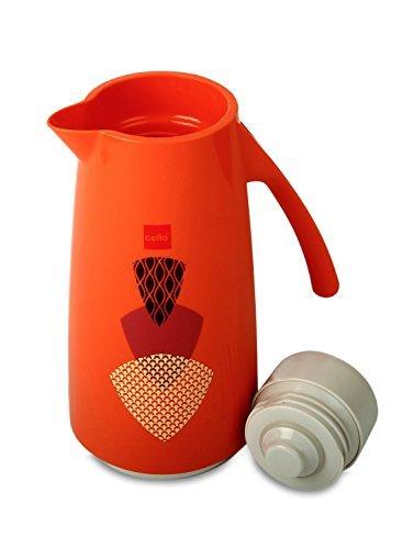Amazon India : Cello Nebula Plastic Flask, 600ml, Orange
