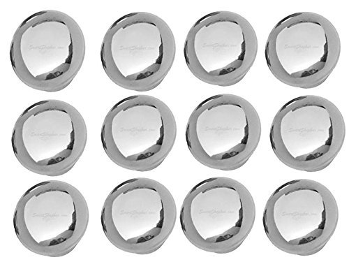 Amazon India : Smart Shophar Stainless Steel Door knob Bristol Silver Pack of 12 Pieces