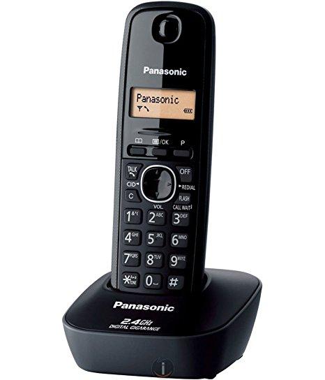 Paytmmall : Panasonic KXTG-3411SXH Cordless Landline Phone (Black)
