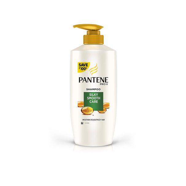 Amazon India : Pantene Silky Smooth Care Shampoo, 675ml