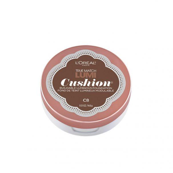 Amazon India : L'Oreal Paris True Match Lumi Cushion Foundation, C8 Cocoa, 14.6g