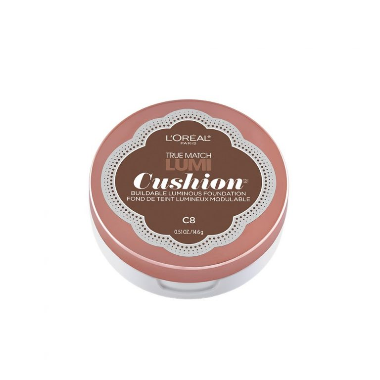 Amazon India : L'Oreal Paris True Match Lumi Cushion Foundation, C8 Cocoa, 14.6g