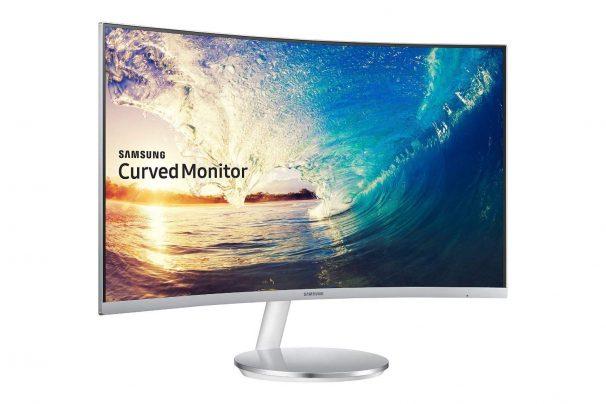 Amazon India : Samsung 27 inch (68.6 cm) Curved Bezel Less LED Monitor