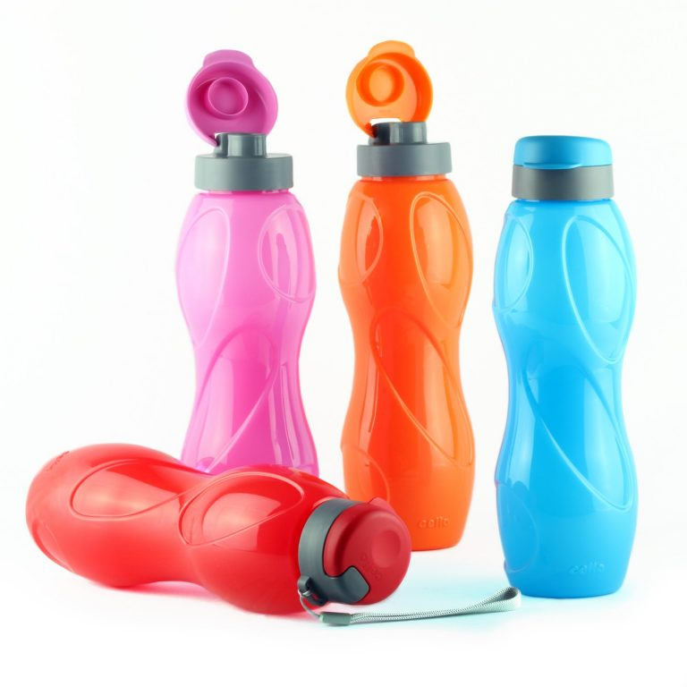 Amazon India : Cello Bacto Guard Beta Plastic Flip Top Bottle Set, 1 Liter, Set of 4, Assorted