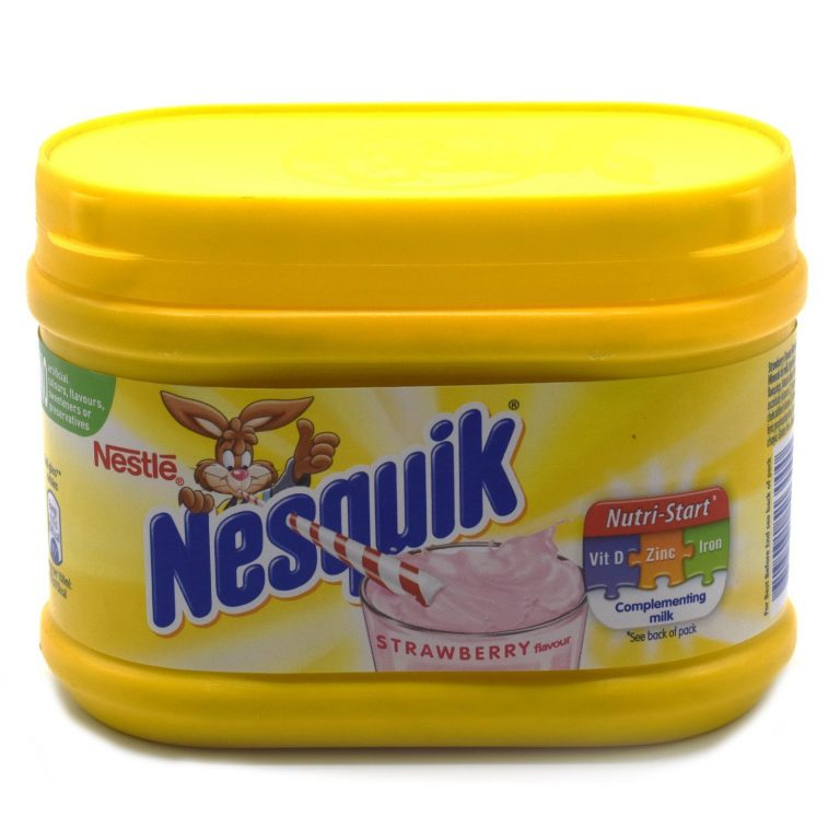 Amazon India : Nesquik Strawberry Milkshake Mix 300g