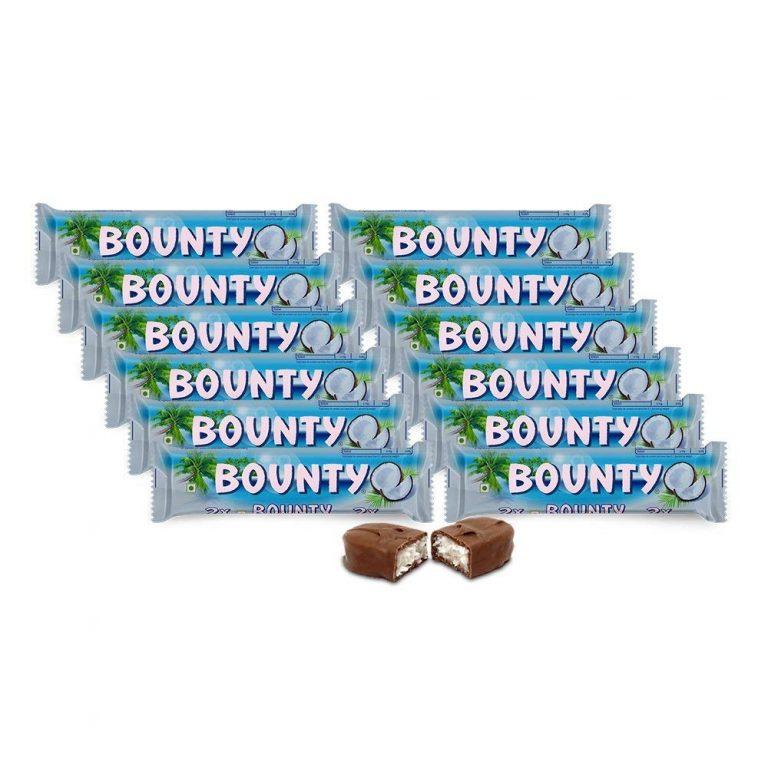 Amazon India : Bounty Chocolate Bar, 57g (Pack of 12)