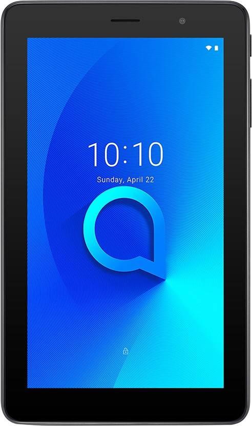 Flipkart : Alcatel 1T7 8 GB 7 inch with Wi-Fi Only Tablet (Premium Black)