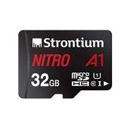 Amazon: Strontium Nitro A1 32GB Micro SDHC Memory Card 100MB/s A1 UHS-I U1 Class 10