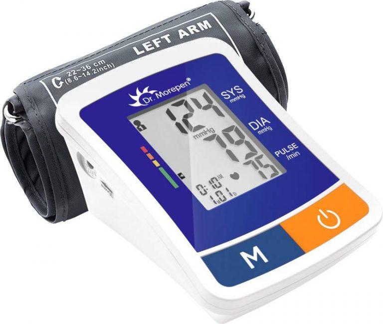 Flipkart : Dr. Morepen BP-12 BP One Bp Monitor(Blue)#OnlyOnFlipkart