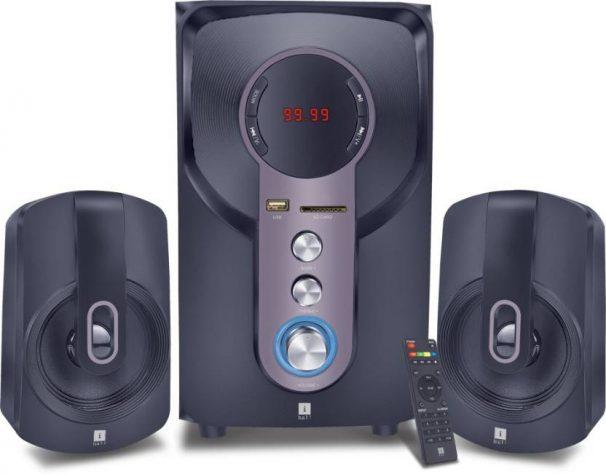 Flipkart : iball Hi-Basss Bluetooth Home Audio Speaker(Black, 2.1 Channel)