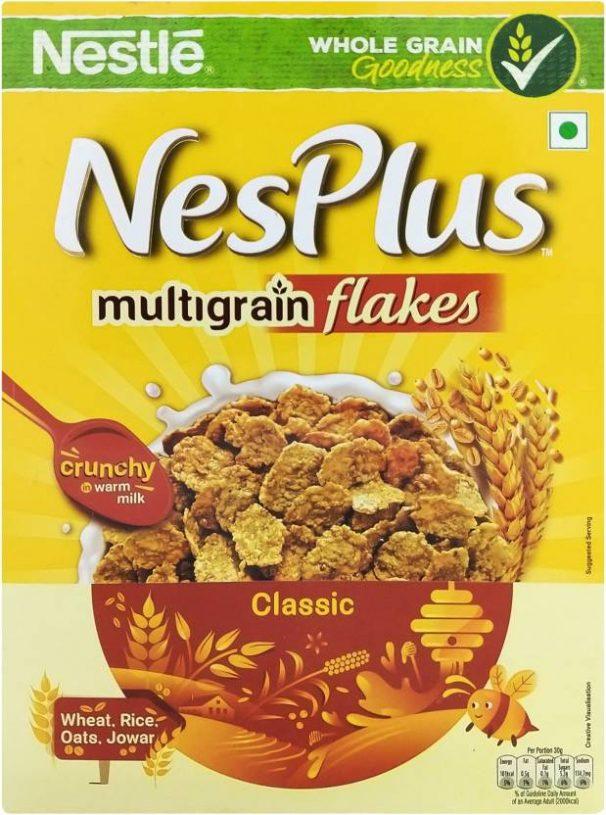 Flipkart : Nestle Nesplus Classic Multigrain Flakes  (250 g, Box)