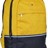 Amazon India : Tommy Hilfiger Atlas 22 Ltrs Yellow Laptop Backpack