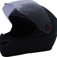 Amazon India : Steelbird Air SBA-1 Matte Full Face Helmet (Black, M)