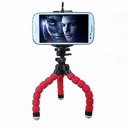 Amazon India : Teconica PT_75 Soft Sponge Octopus Mini Stand Tripod (Random Colour)