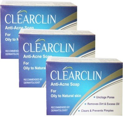 Amazon India : Clearclin Acne Prevention Soap - 75gm (Pack of 6)
