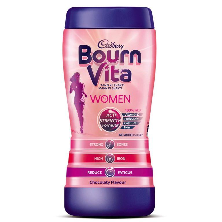 Amazon India : Cadbury Bournvita for Women Health Drink - 400 g (Chocolate)