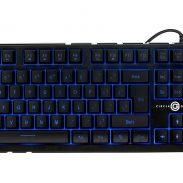 Amazon India : Circle Battle Pro LED 7 Colour Backlit Gaming Keyboard (Black)