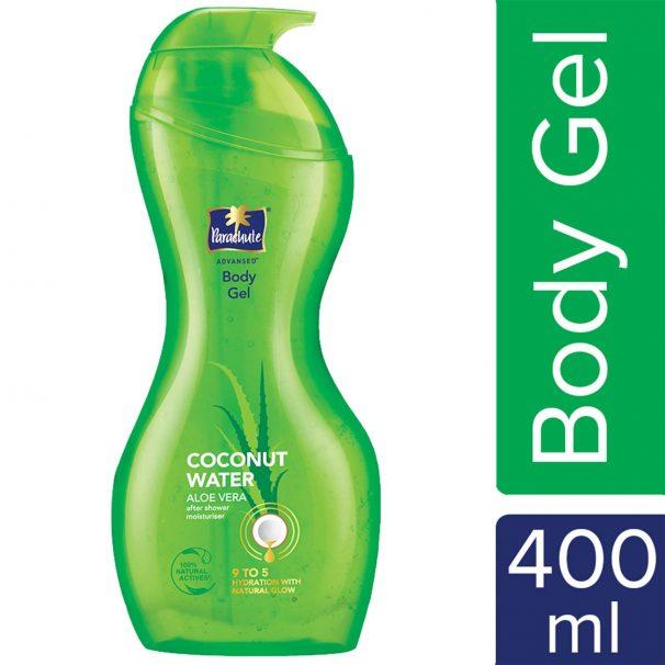 Amazon India : Parachute Advansed Body Gel, Coconut Water & Aloe Vera Gel, 400 ml