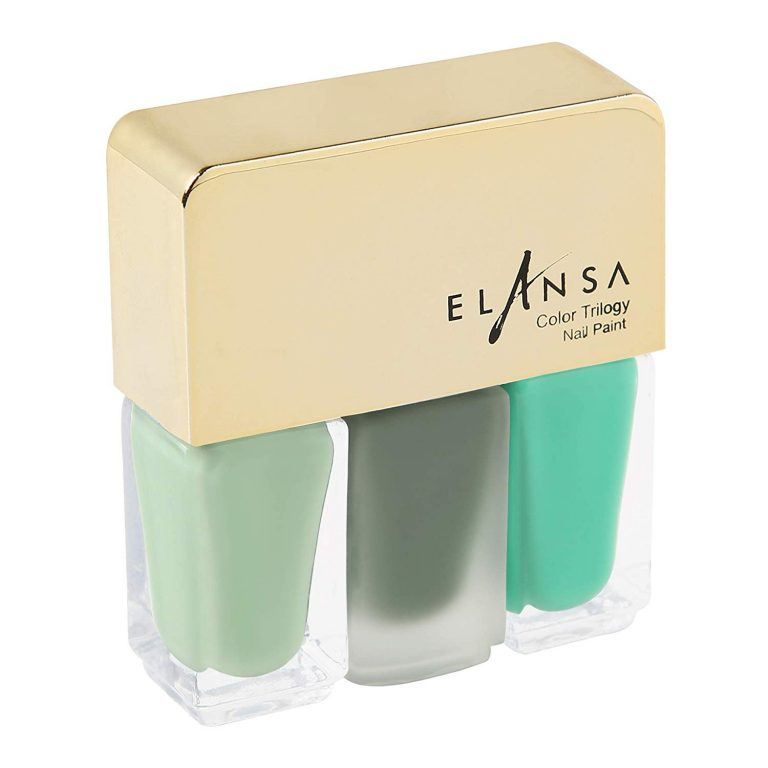 Amazon India : Elansa Trilogy Nail Paints - 4.5ml + 4.5mL + 4.5mL - Shades of Envy