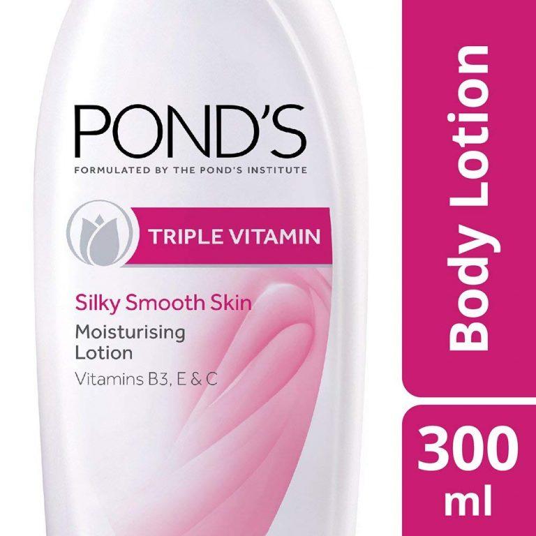 Amazon India : Pond's Triple Vitamin Moisturising Body Lotion, 300ml