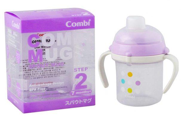 Amazon India : Combi Spout Mug (White/Purple)