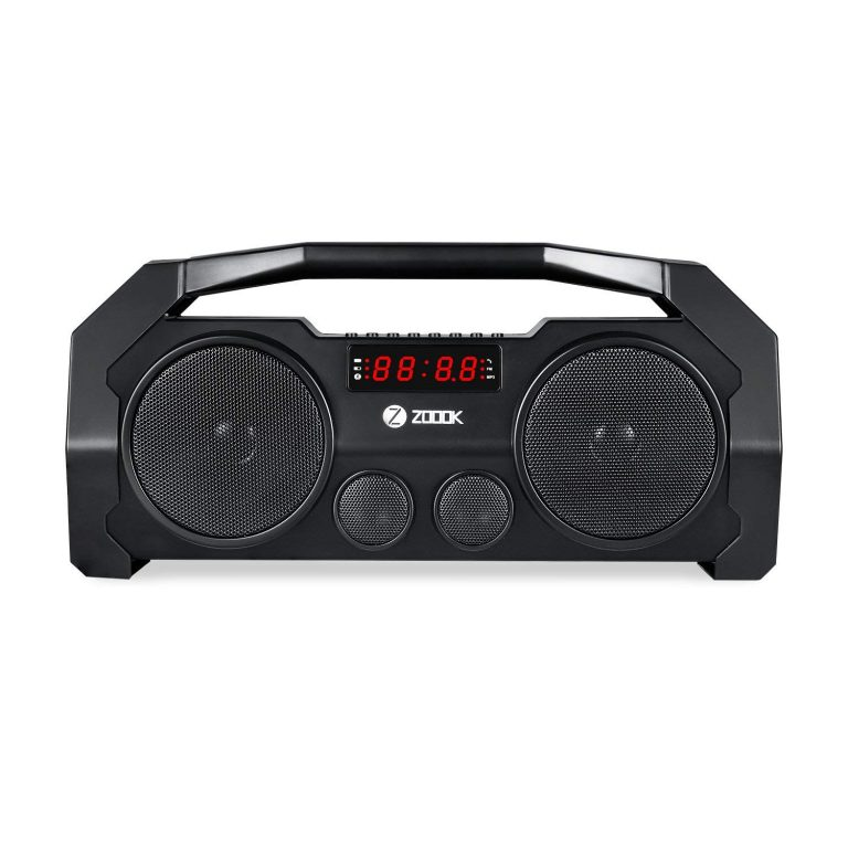 Amazon India : Zoook Rocker Boombox+ 32W Bluetooth Speakers (Black)