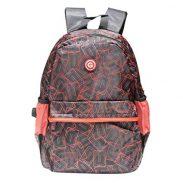 Paytmmall : Giordano 19 Litre Black & Red Laptop Backpack