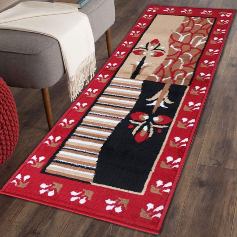 Amazon India : The Home Talk Traditional design bedside runner, 50 x 150 CM
