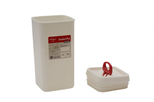 Amazon India : Tossa Plastic Storage Container, 1.7 Litres, White