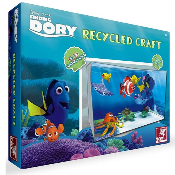 Amazon India : Toy Kraft Finding Dory - Recycled Craft, Multi Color