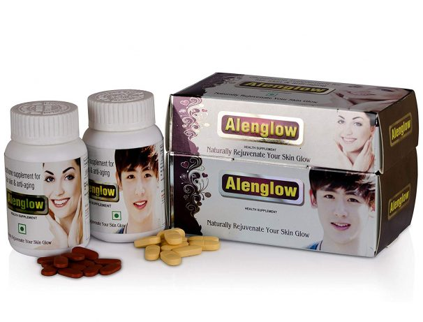 Amazon India : Alvizia's Alenglow Premium Health supplement