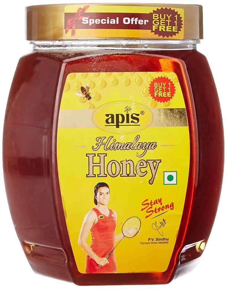 Amazon India : Apis Himalaya Honey, 1kg (Buy 1 Get 1 Free)
