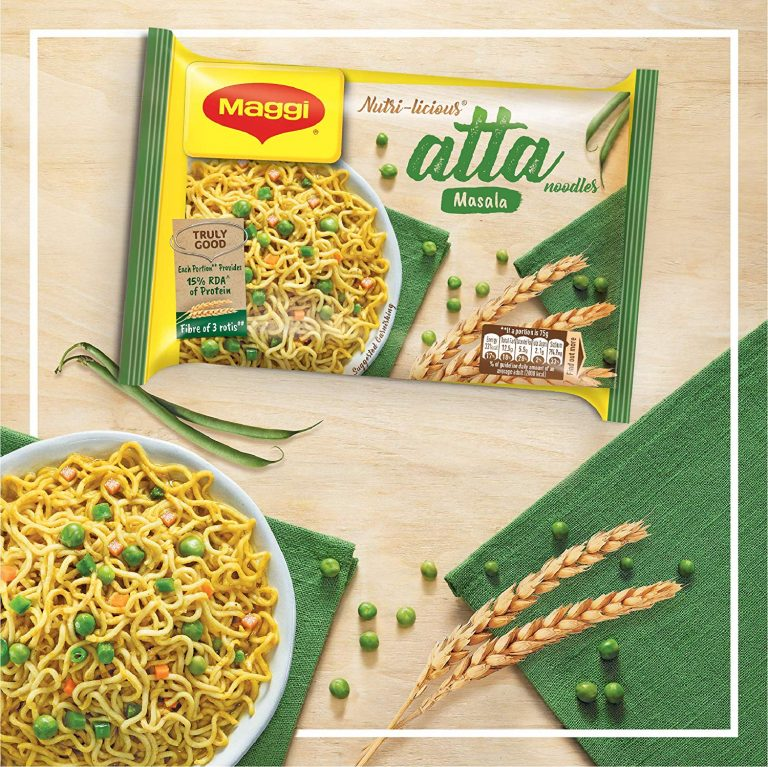 Amazon India : Maggi Nutri-Licious Atta Noodles, Masala, 300g