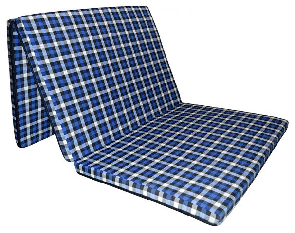 "Amazon India : Sleepinns 2.2 Inches Three Fold Single Size Foam Mattresses (72"" X 35"" X 2.2"",Checkered)"
