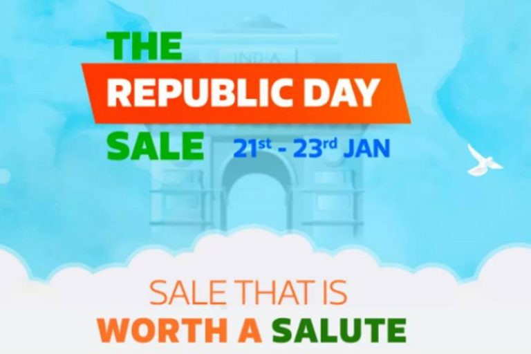 Flipkart Republic Day Sale: 40-80% Off on Fashion