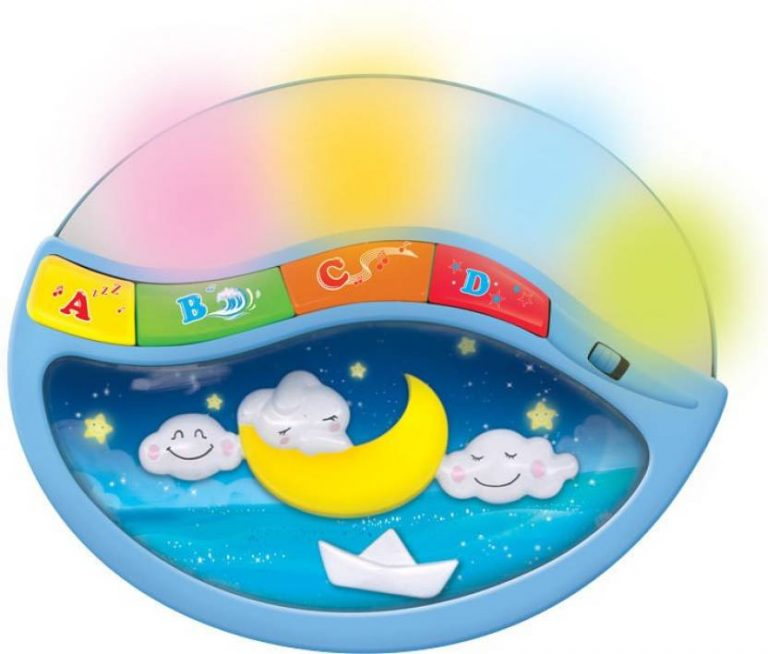 Flipkart : Mitashi Skykids Lullaby Moon Night Light  (Multicolor)