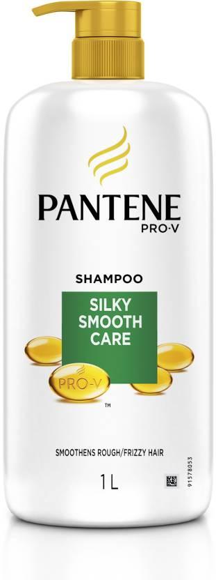 Flipkart : Pantene Silky Smooth Care Shampoo  (1 L)