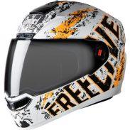Amazon India : Steelbird Helmet SBA-1 Free Live (Large, Matt White and Orange)