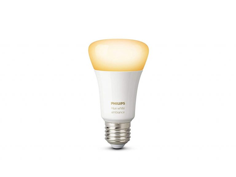 Amazon India : Philips Hue 9.5W E27 Bulb (White Ambiance), Compatible with Amazon Alexa, Apple HomeKit, and The Google Assistant