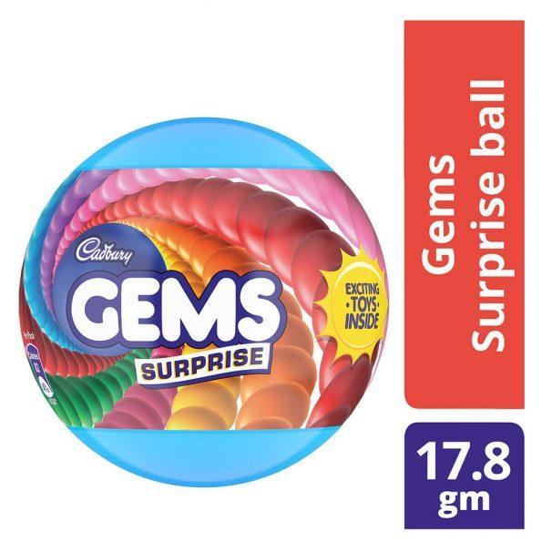 Amazon India : Cadbury Gems Surprise Fun on Wheel, 17.8g + 1 Toy