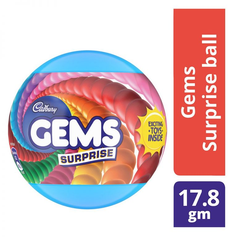 Amazon India : Cadbury Gems Surprise Fun on Wheel, 17.8g + 1 Toy