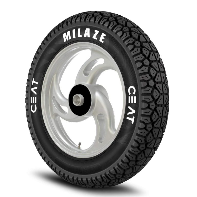 Amazon India : Ceat Milaze 90/100-10 53J Tubeless Scooter Tyre,Front or Rear