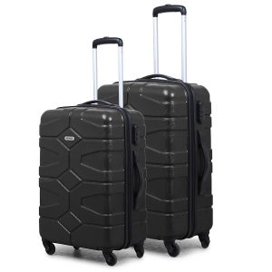 Amazon India : Novex Small Large Black Trolley Luggage Suitcase Set