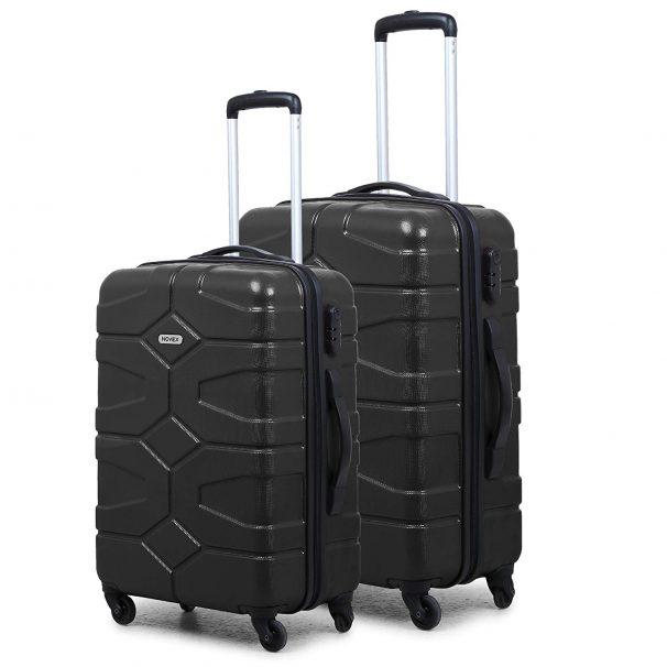 Amazon India : Novex Small Large Black Trolley Luggage Suitcase Set