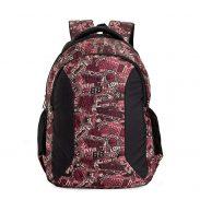 Amazon India : Chris & Kate Red Graffiti Big Comfortable Backpack   Laptop Bag   School Bag   College Bag (32 litres) (CKB_133GC)